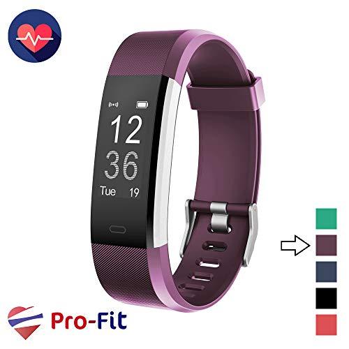 - Pro-Fit Active VeryFitPro Fitness Tracker IP67 Waterproof Activity Tracker Heart Rate Sleep Monitor (Purple)