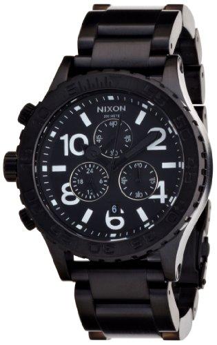 NIXON (ニクソン) THE 42-20 CHRONO ALL BLACK NA037001-00 メンズ