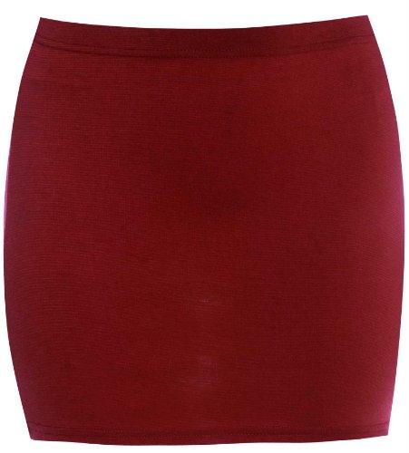 Xclusive Collection Nouveau Taille Laides plus Mini moulante Ponti Jupes 36-50 Wine