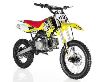 Apollo DB-X18 125cc Dirt Bike Green