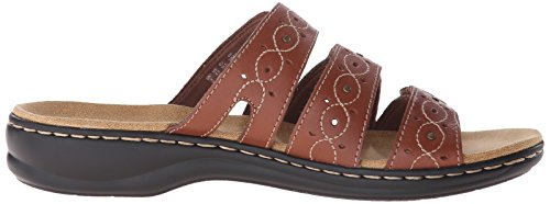 Brown Sandal Clarks Cacti Women's multi Slide Leisa qBqAOXw