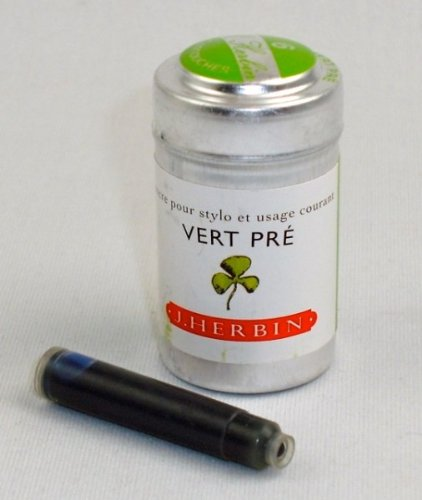 J. Herbin Ink Cartridges Vert Pre