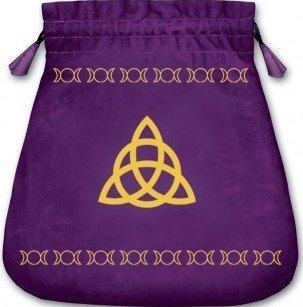 Triple Goddess Velvet Bag (Bolsas de Lo Scarabeo Tarot Bags From Lo Scarabeo) by Lo Scarabeo [MiscSupplies(2006/6/8)]