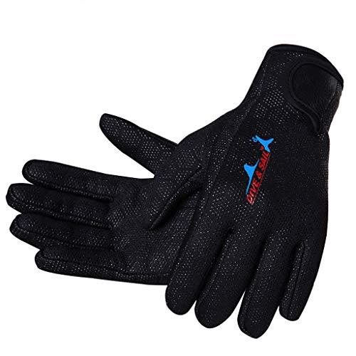 (Glumes 1.5mm Reef Gloves Stretchy Mesh Good for Snorkeling, Kayaking, Water Jet Skiing, Sailing, Scuba Diving, Rafting)