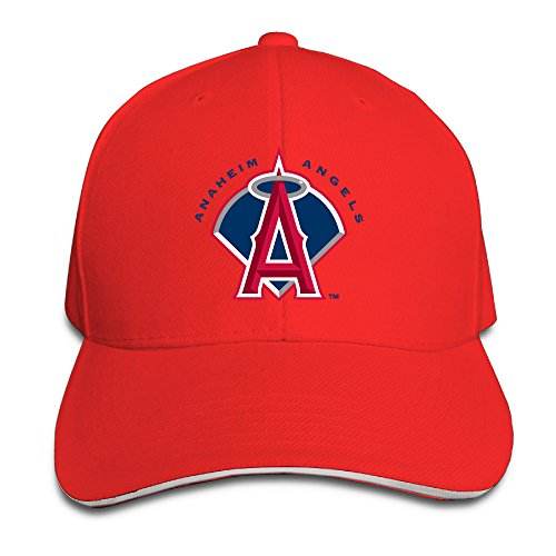 Los Angeles Angels Of Anaheim Logo Sport Adjustable Unisex Hats Trucker Hats Sanwich Bill Caps