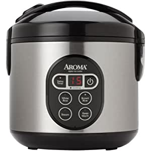 Amazon Com Aroma 8 Cup Digital Rice Cooker And Food