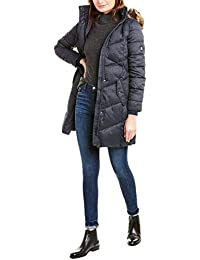 Womens Sternway Quilted Coat, 10, Blue