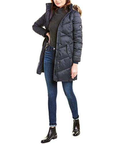 Barbour Womens Sternway Quilted Coat, 10, Blue