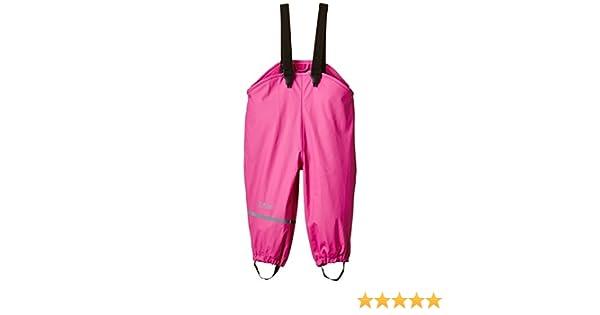 Real pink 546 104 CareTec Pantalones Impermeable con vell/ón Unisex Ni/ños Rosa