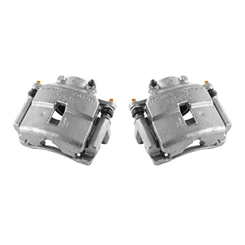 (CCK01518 [ 2 ] FRONT Premium Grade OE Semi-Loaded Caliper Assembly Pair Set)