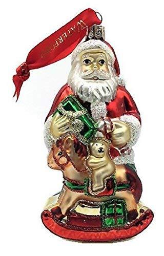 Waterford Santas Rocking Horse Holiday Ornament