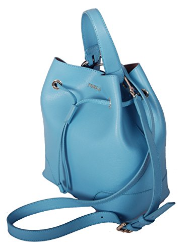 Furla Stacy S Drawstring crossbody bag in Turquoise by Furla (Image #1)