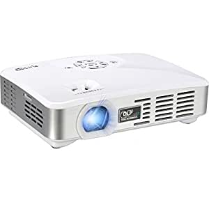 Uhd 6900 portable palm hd led projector w for Best portable bluetooth projector
