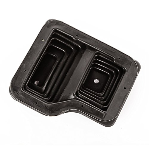 Omix-Ada 18886.97 Black Regular Shifter Boot, Outer, Manual; 87-95 Wrangler - Boot Shifter Ring