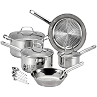 T-fal E760SC Performa 12-Piece Stainless Steel Cookware Set