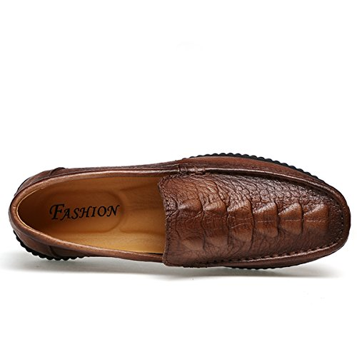 Miyoopark , Mocassins pour homme - marron - Brown-Style1,
