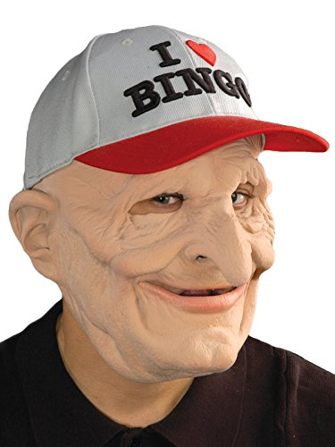 Bingo Halloween Costume (Zagone B9 Mask, Old Man, Bingo Baseball Cap)