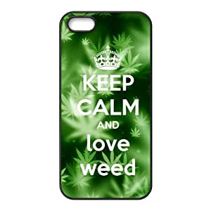 Fresh green design Cell Phone Case for Iphone 5s
