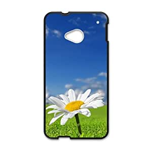 Daisy Flower HTC One M7 Cell Phone Case Black LMS3924005
