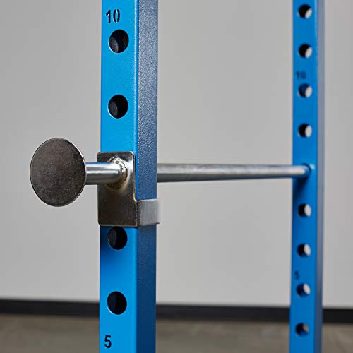 Rep PR-1100 Power Rack - 1,000 lbs Rated Lifting Cage for Weight Training (Blue Power Rack, No Bench) by Rep Fitness (Image #2)