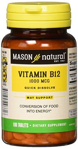 Mason Natural Vitamin B-12 1000mcg Sublingual Tablets - 100 Ea ()
