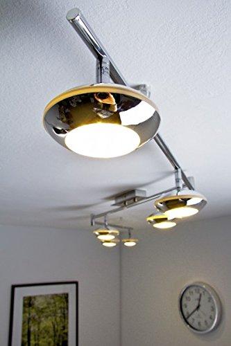 LED Deckenspot Grosseto 6 x 5 Watt je 400 lumen 3000 Kelvin warmweiss