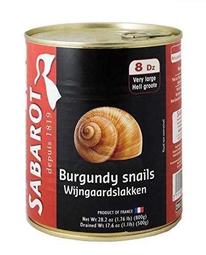 Sabarot Helix Lucorum 800 Gram 96 Extra Large Snails by Sabarot