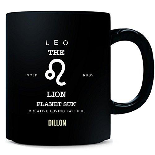 Dillon Mug - Dillon I Am Leo The Lion - Man - Mug
