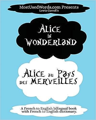 Amazon Com Alice In Wonderland Alice Au Pays Des Merveilles A