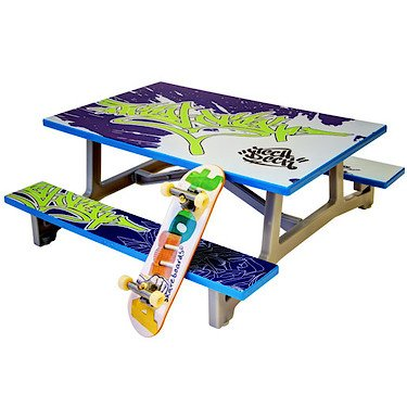 Spinmaster Tech Deck Build A Ramp Playset Table
