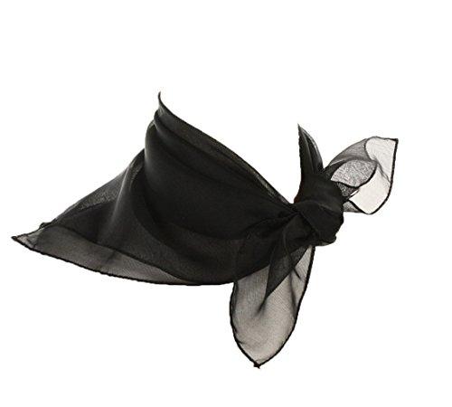 Sheer Black Scarf]()