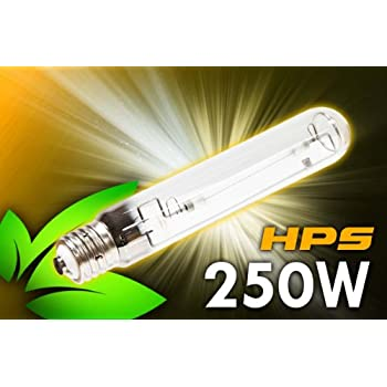 Amazon Com 250 Watt Hps Grow Light 31 000 Lumens For