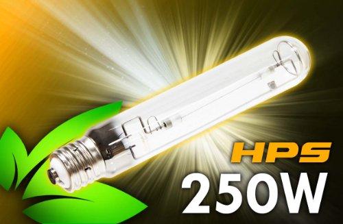 (250 Watt HPS Grow Light - 31,000 Lumens for Indoor Garden/Hydroponics)