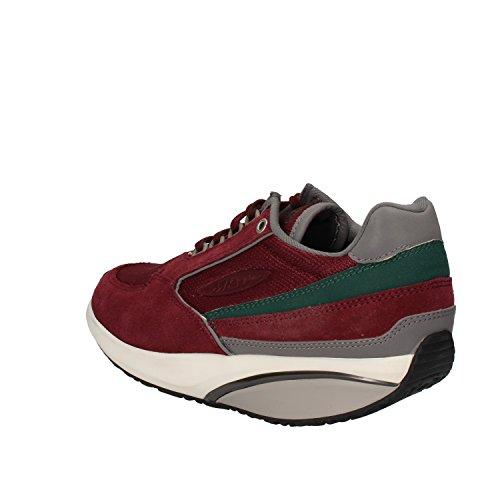 MBT Sneakers Damen 37 EU Burgund Textil Wildleder