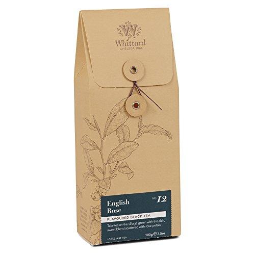 Whittard Tea English Rose Loose Leaf 100g