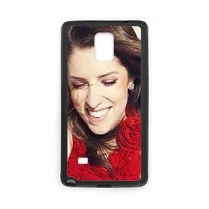 Anna Kendrick Samsung Galaxy Note 4 Cell Phone Case Black I0450431