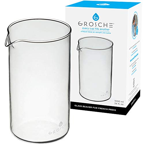 bonjour french press glass - 2