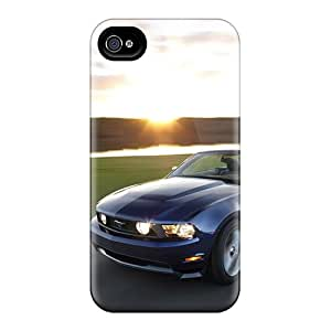 Hard Plastic Iphone 6 Cases Back Covers,hot Sunrise Cars Vehicles Ford Mustang Cases At Perfect Customized