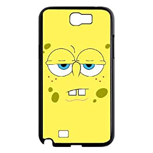 Samsung Galaxy N2 7100 Cell Phone Case Black Sponge Bob lwn mlow