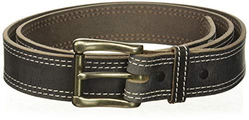 Nocona Belt Co. Men's Nocona Austin USA Double Stitch Work Belt, gray, 40]()