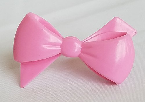 Pink Bow Cupcake Toppers - Set of 12 ()