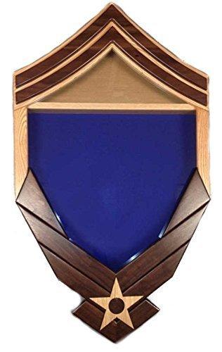 E-8 Air Force Logo / Senior Master Sergeant (SMSgt) Shadow Box / Retirement Display
