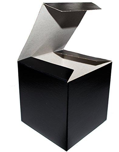 Gold Favor Boxes 4x4x4 : Large favor boxes