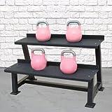 Dumbell or Kettlebell Storage Rack by Bells of Steel   Gym Equipment Storage Solution