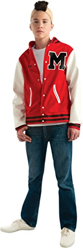 Glee Puck Adult Mens Costumes (Glee Puck Football Player Teen Costume, Standard Color, One Size)