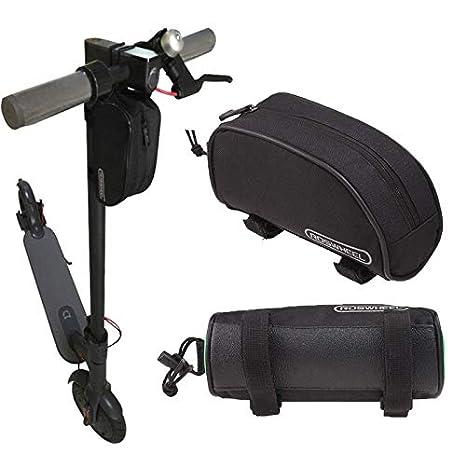 Theoutlettablet® Bolsa de Almacenamiento para Xiaomi Mijia M365 Scooter eléctrico Frontal Porta Herramientas, Cargador etc. Bolsa de Transporte