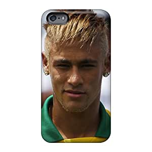 Bumper Hard Cell-phone Case For Apple Iphone 6 With Custom Attractive The Priceless Player Of Barcelona Neymar Image LeoSwiech