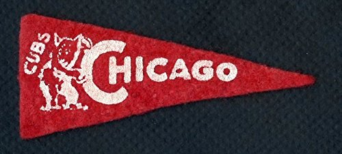 - 1950 American Nut & Chocolate Pennants Chicago Cubs EX 327817 Kit Young Cards