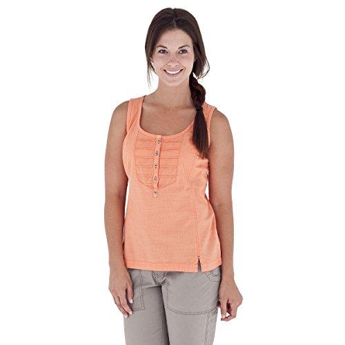 Royal Robbins Women's Cool Mesh Tank Top, Peach, Small