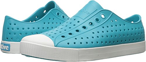 Nativo Unisex Jefferson Fashion Sneaker Iris Blu / Bianco Conchiglia
